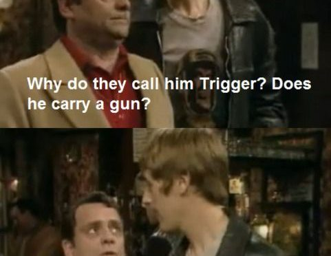 Why Do They Call Him Trigger? Only Fools And Horses