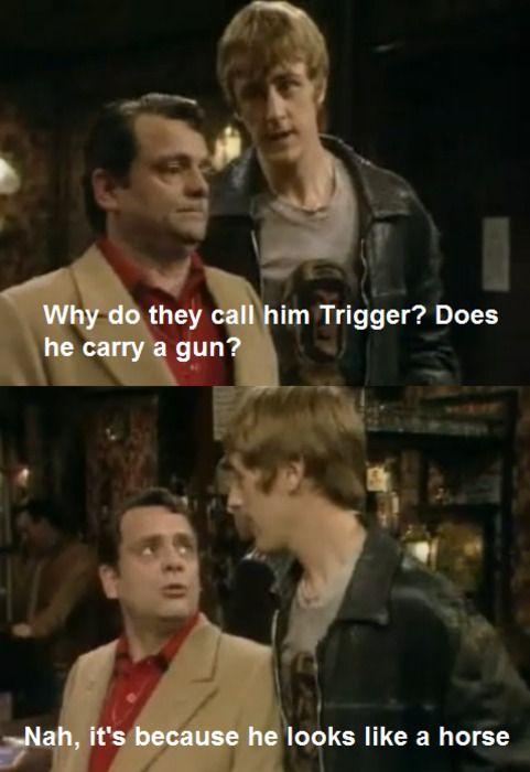 Why do they call him Trigger?