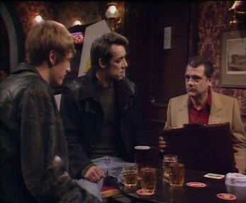 Trigger selling Del Boy and Rodney the stolen suitcases from Only Fools and Horses series 1 episode 1 Big Brother. For the full script and quotes from the British Comedy TV show, check out the full article!