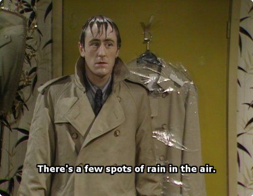There's a few spots of rain in the air - Only Fools and Horses Quotes