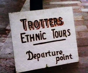 Trotter's Ethnic Tours from Only Fools and Horses
