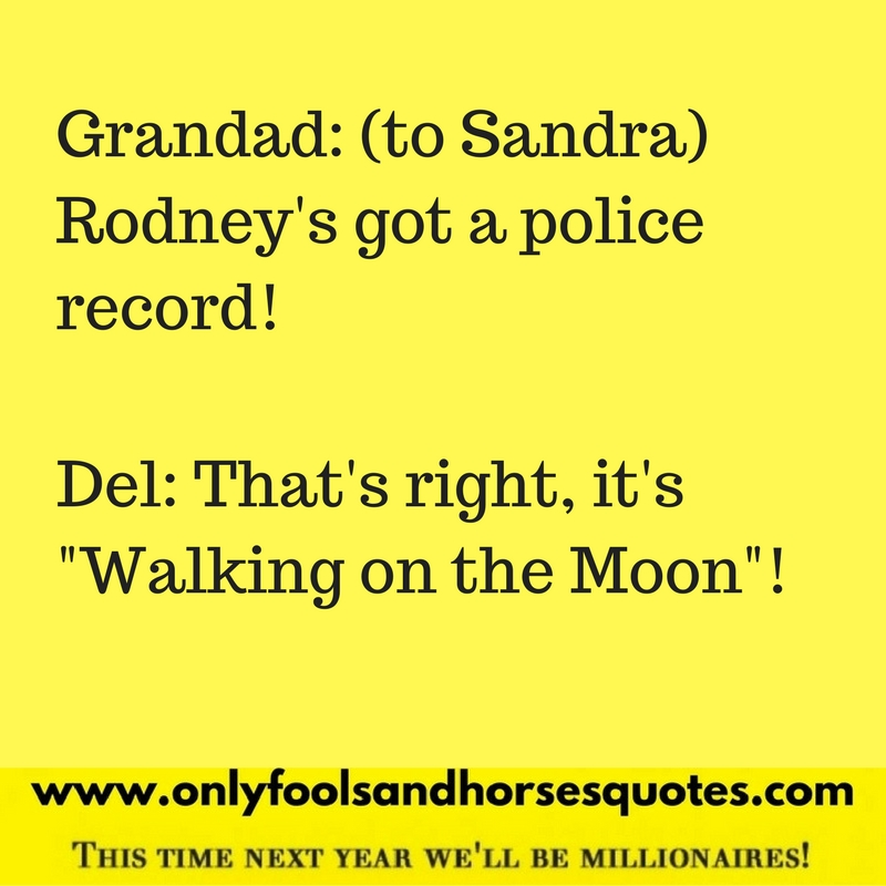 He's got a police record.