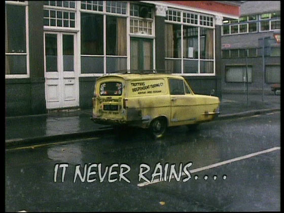 Only Fools and Horses It Never Rains full script and quotes