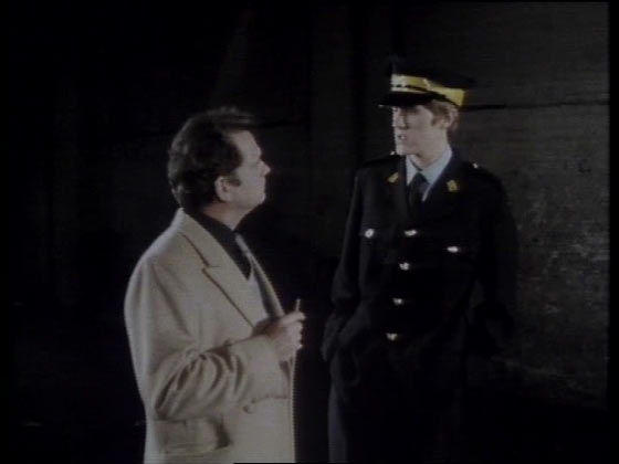 Rodney as a traffic warden from Only Fools and Horses