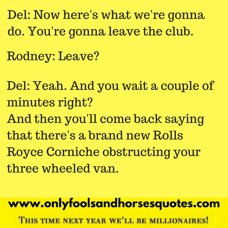 Only fools and horses quotes