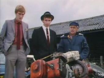 Only Fools and Horses lawnmower engines
