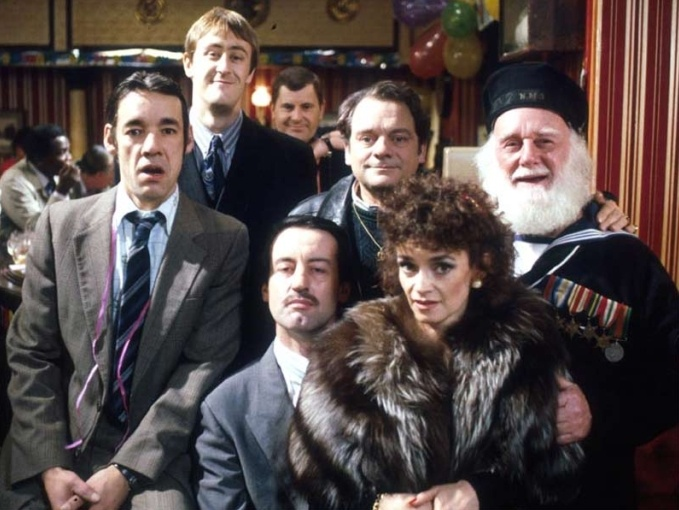 The cast of Only Fools and Horses